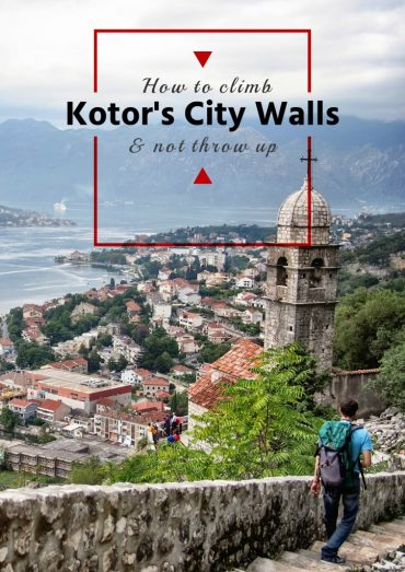 How to Climb Kotor's City Walls and Not Throw Up. 3