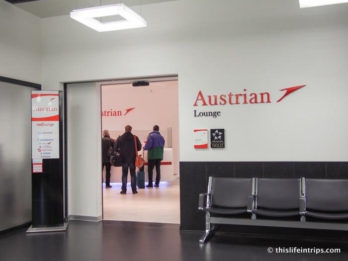 Austrian Air Lounge