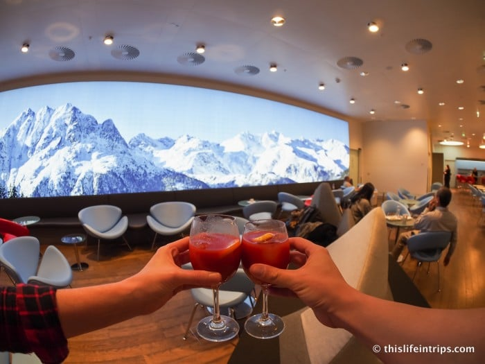 Austrian Air Lounge