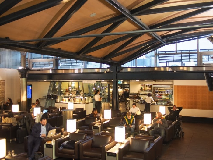 Zurich Swiss Air Lounge