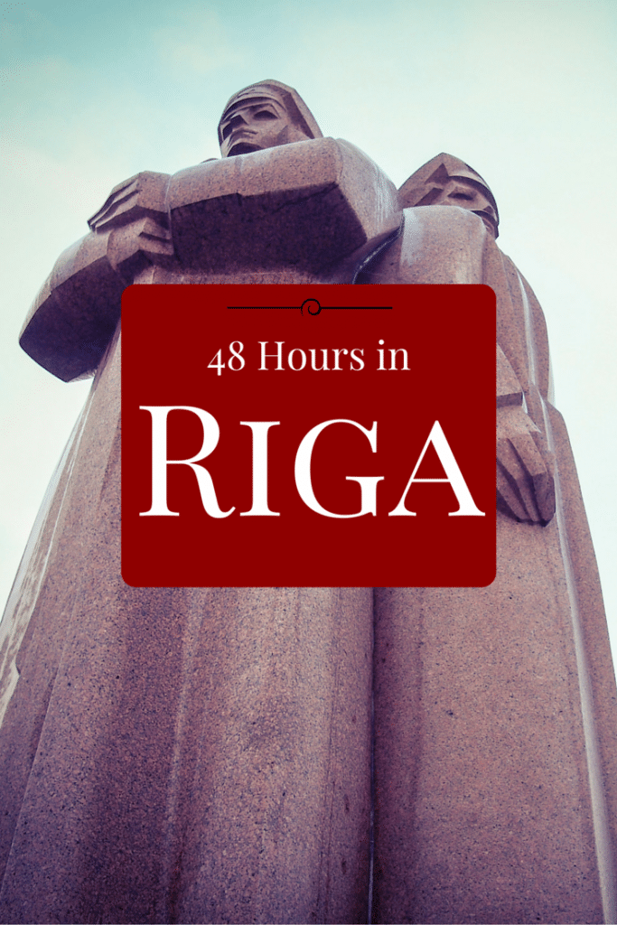 48 hours in Riga