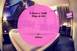 A Rock 'n' Roll stay at the Vilnius Comfort Hotel LT 10