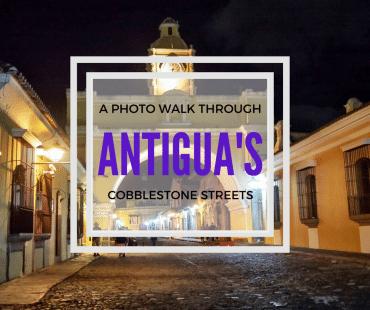 Antigua photowalk