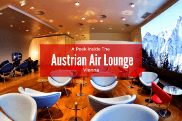 A Peek Inside Vienna's Austrian Air Lounge