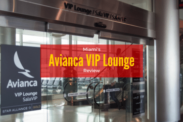 A Peek Inside the Miami Avianca Lounge
