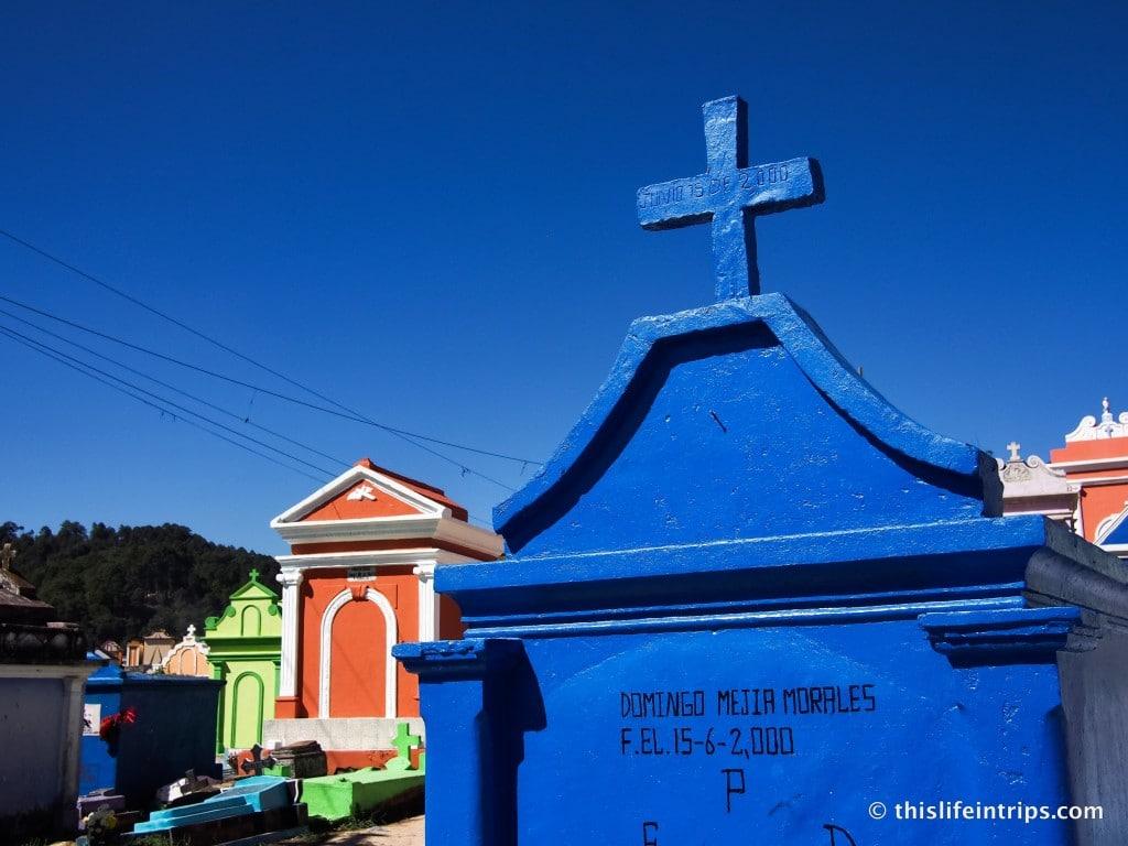 A Photo Walk Through the Chichicastenango Cemetery