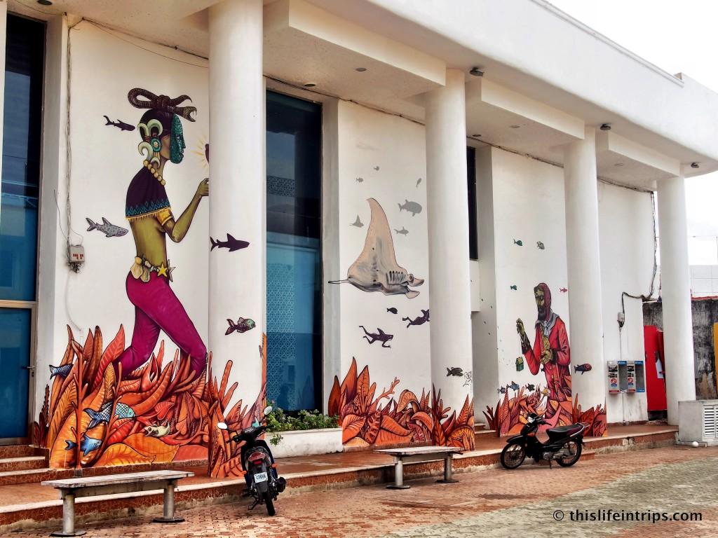 Islas Mujeres street art