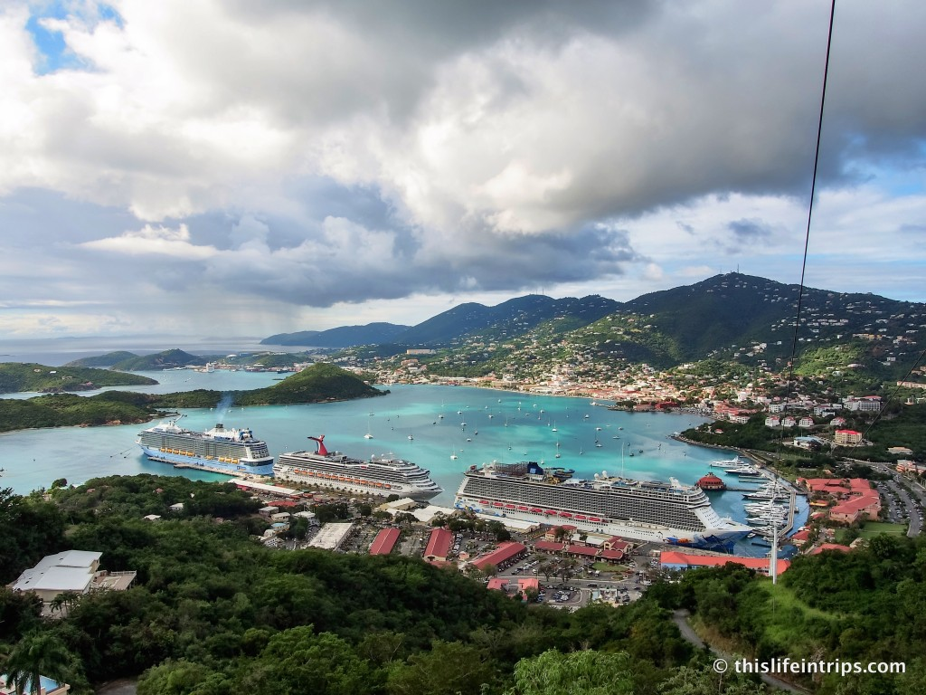 A Walk Along St. Thomas' Charlotte Amalie Harbor