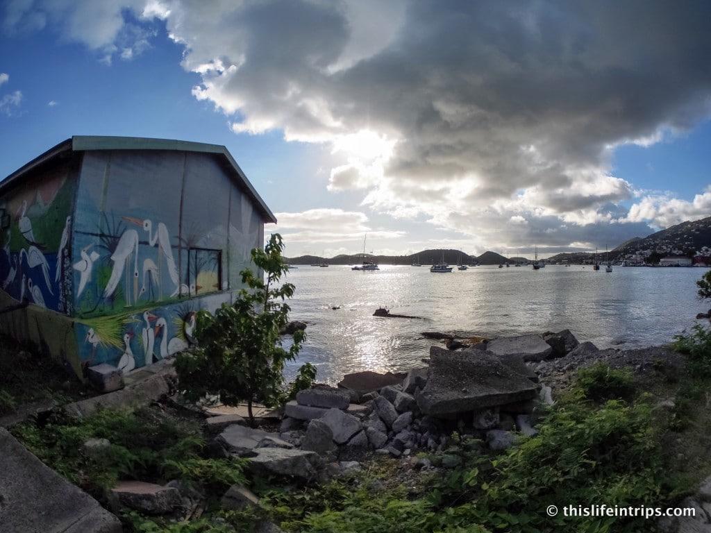 A Walk Along St. Thomas' Charlotte Amalie Harbor