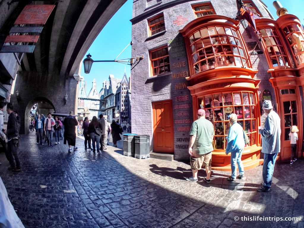 Visiting Universal Studios Springfield USA – My Harry Potter World