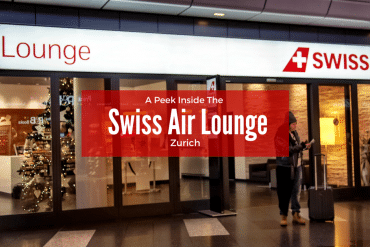 A Peek Inside the Zurich Swiss Air Lounge