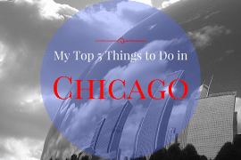 My Top 5 Things to Do in