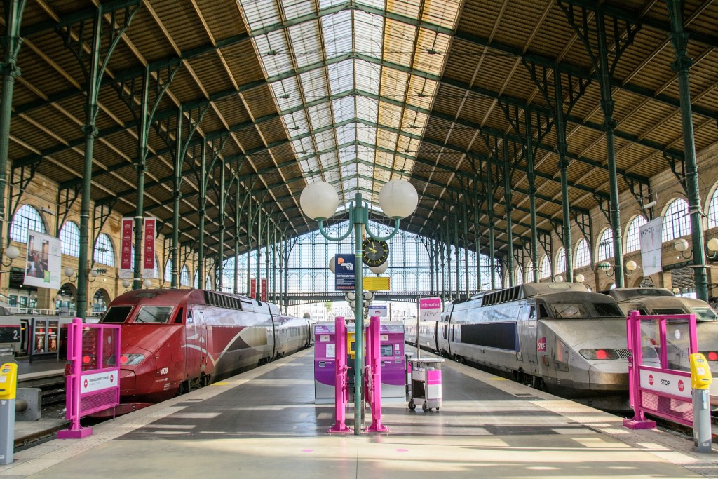 Memorable European Train Station