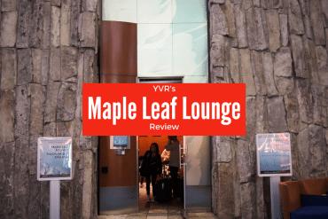 A Peek inside the Vancouver Maple Leaf Lounge