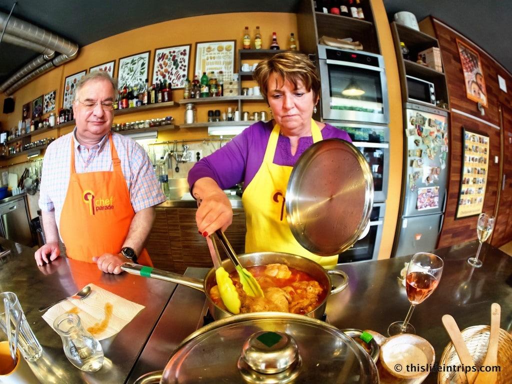 Chefparade Budapest Cooking Class