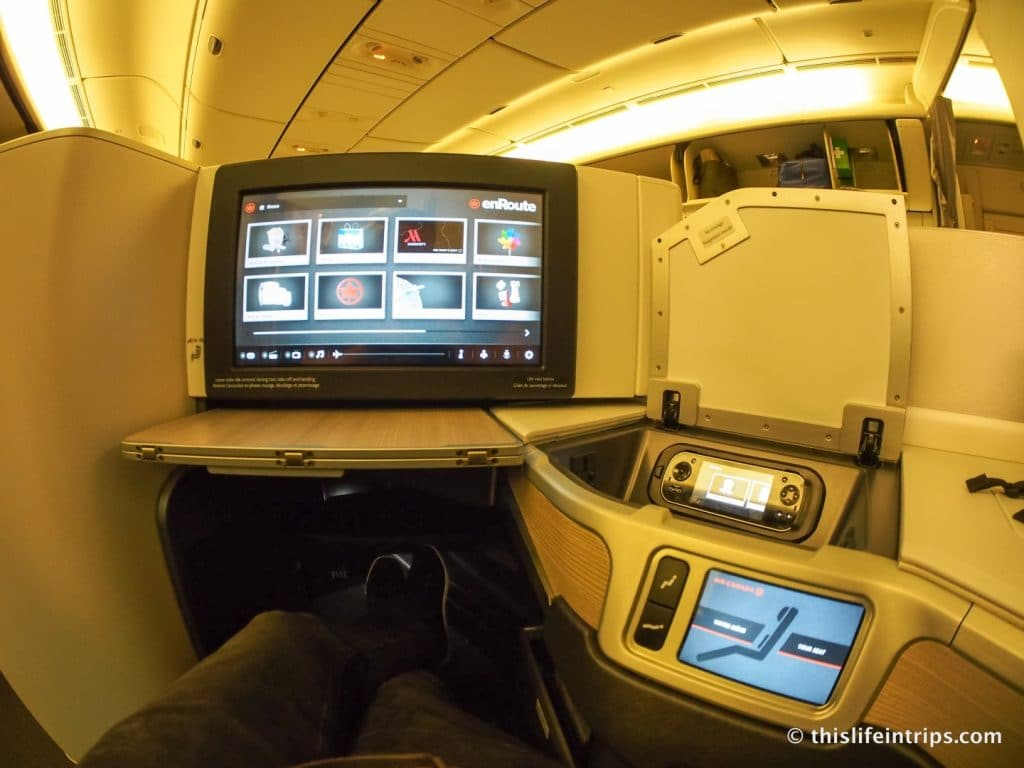 Air Canada 777 Business Class Review