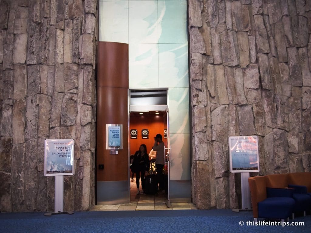 Vancouver Maple Leaf Lounge