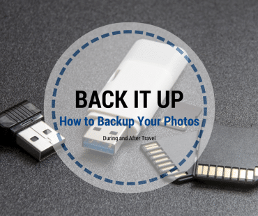 3 Easy Ways to Backup Your Photos While Traveling