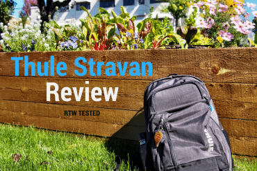 RTW Backpack Test – Thule Stravan Review