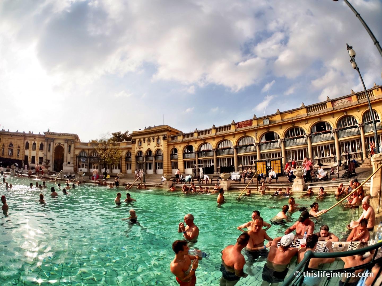 Visiting Szécheny Thermal Baths Budapest