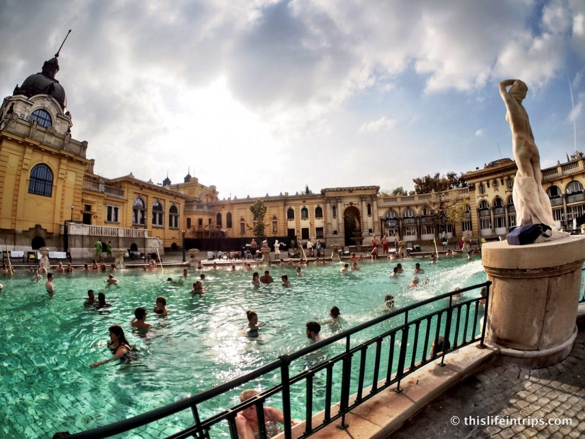 Visiting Szécheny Thermal Baths Budapest