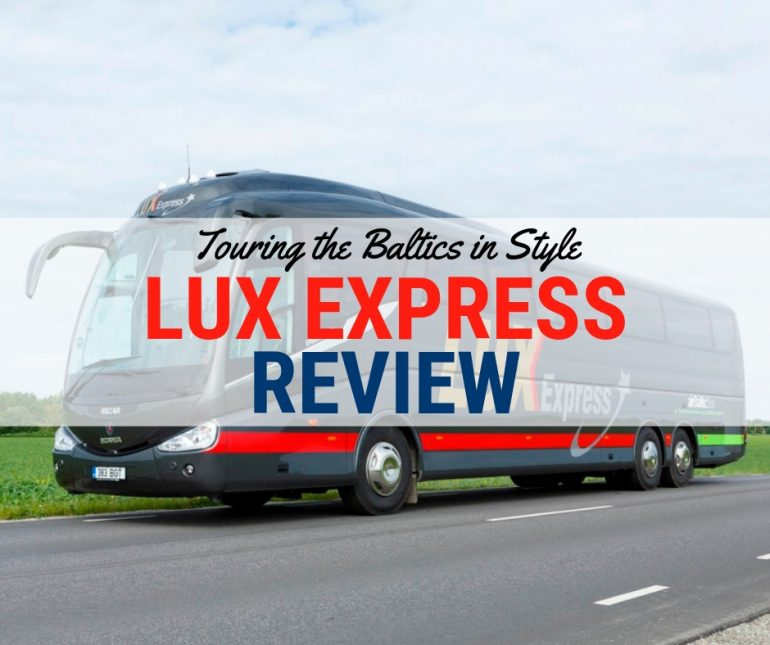 Lux Express Review - Touring the Baltics in Style...by Bus?