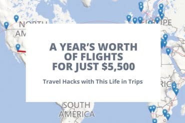 I Spent Just $5,500 on a Year's Worth of Flights. This is How I did it.