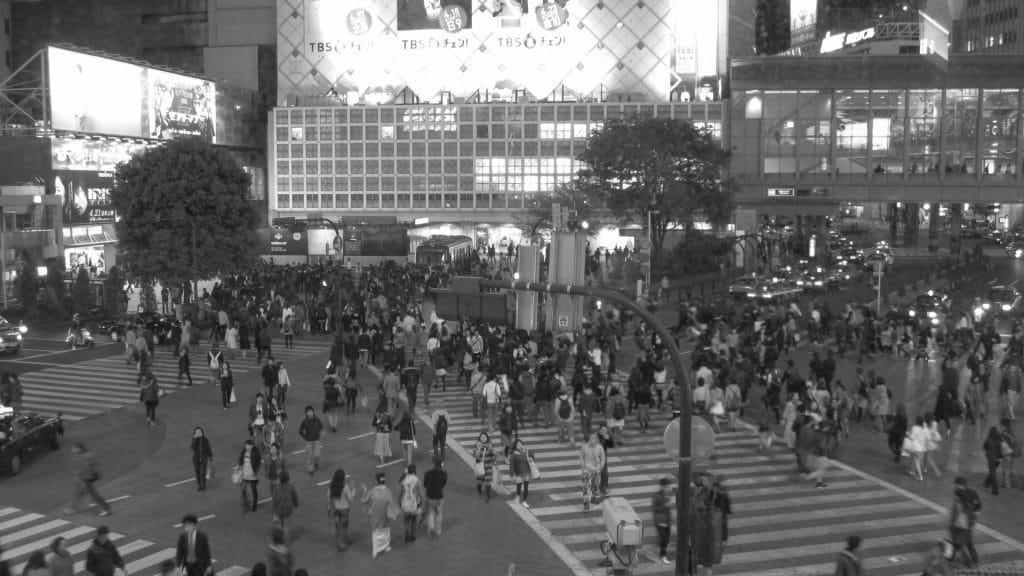 Visiting Shibuya Crossing in Tokyo