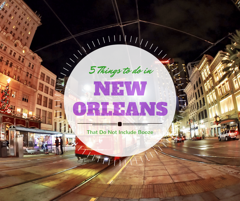 5 things to do in new orleans that do not include booze for Things to do in nee orleans