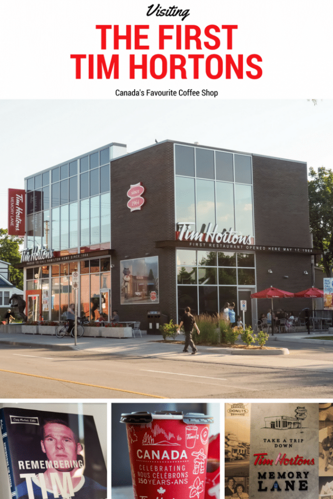 Visiting the very first Tim Hortons
