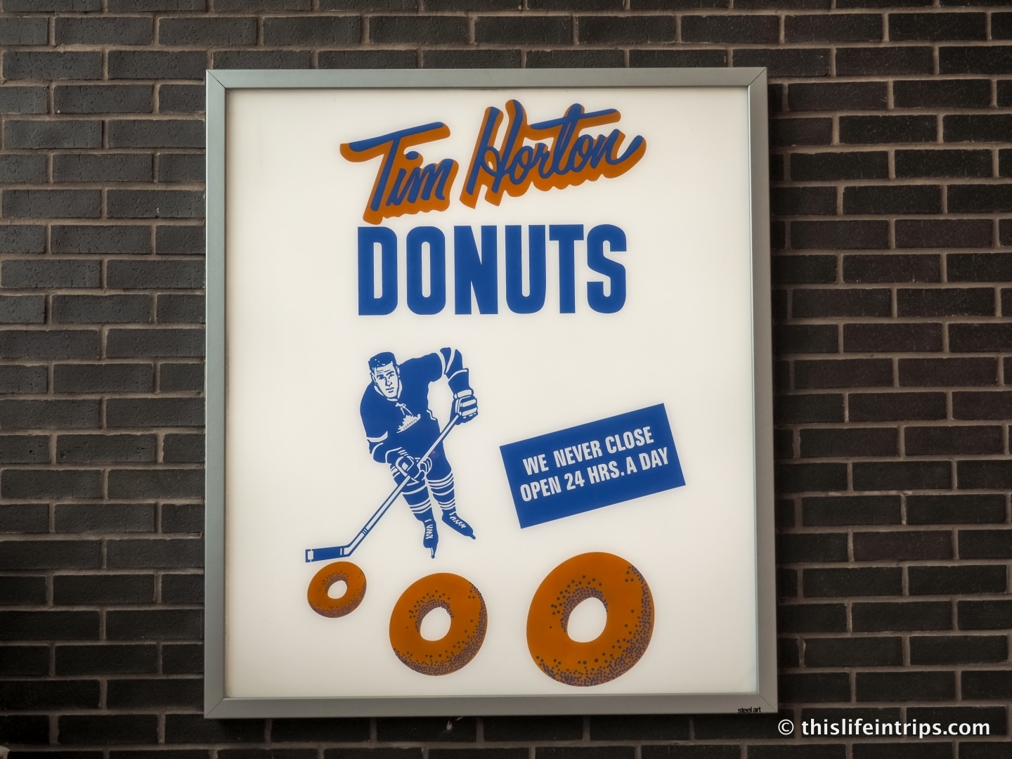 Visiting the Very First Tim Hortons - Canada's Favourite Coffee Shop