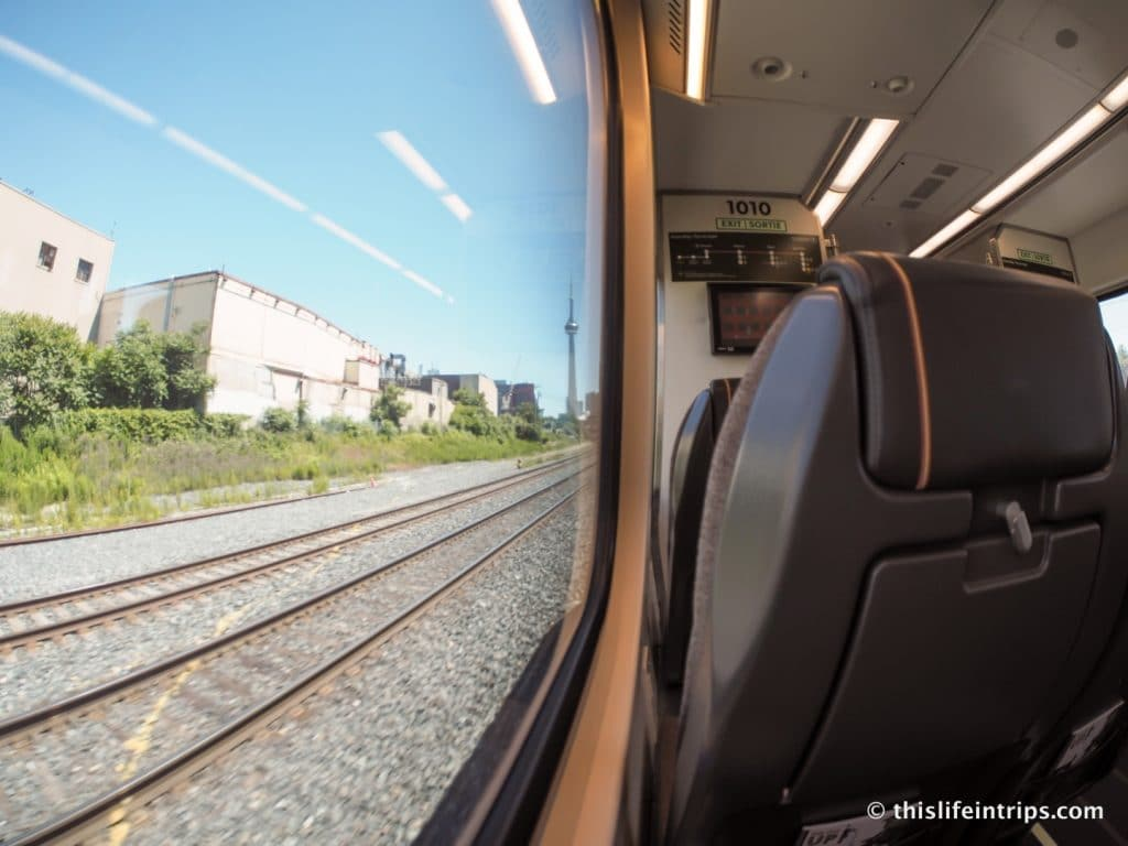 Getting from YYZ to Downtown Toronto - UP vs. The Red Rocket