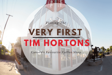 Visiting the Very First Tim Hortons – Canada's Favourite Coffee Shop