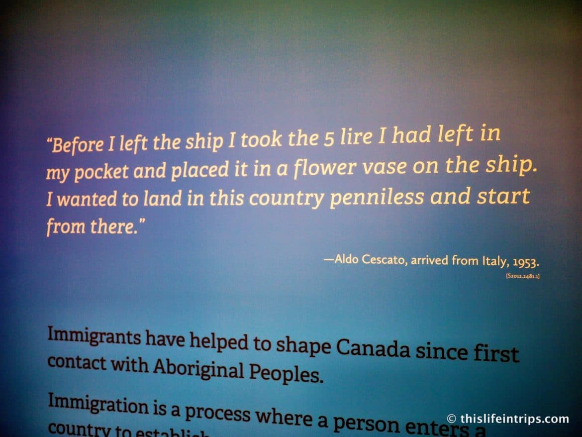 Visiting Pier 21 and the Canadian Museum of Immigration in Halifax