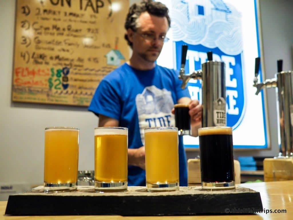 Halifax Highlights in 3 Days | Tidehouse Brewery