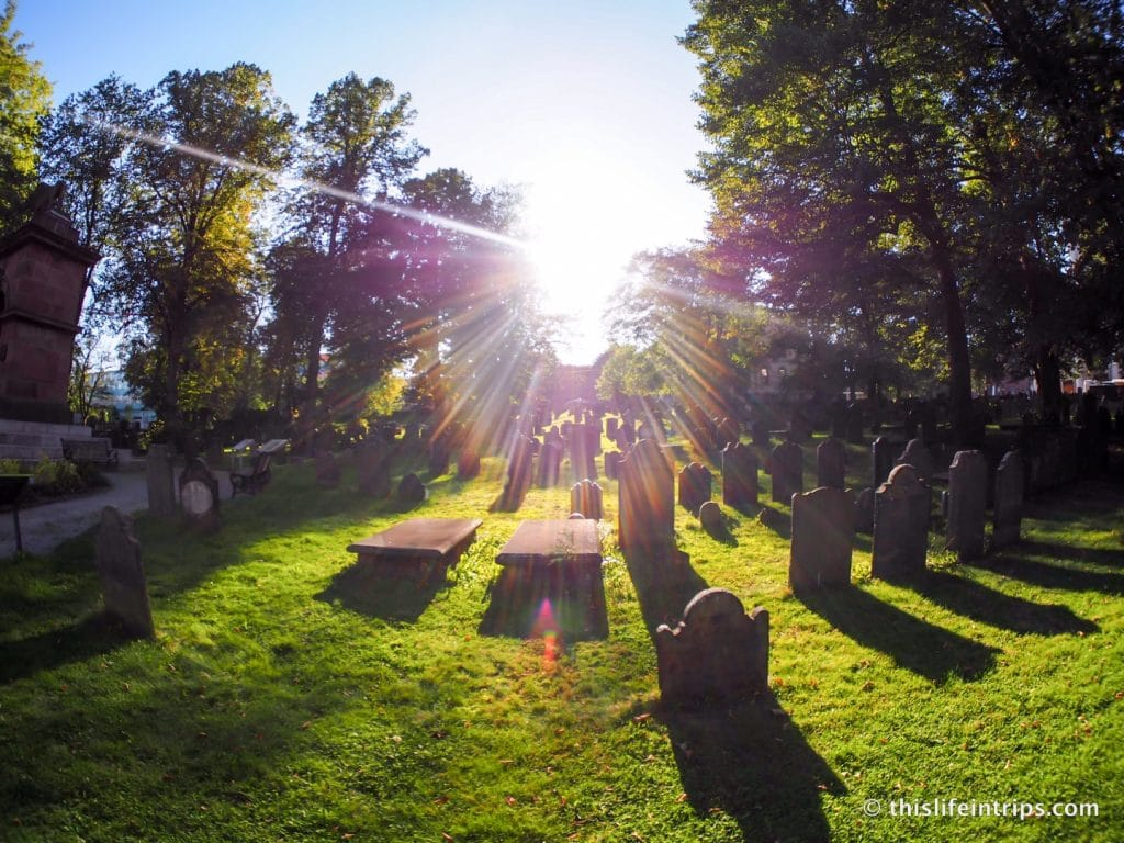 Halifax Highlights in 3 Days   Burying Grounds