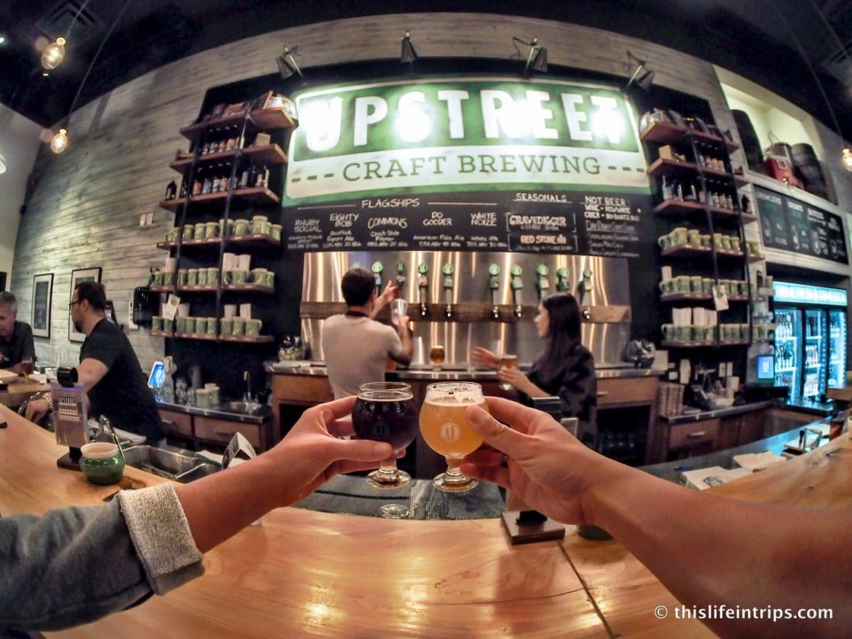 Visiting Prince Edward Island highlights - Upstreet Craft Brewing