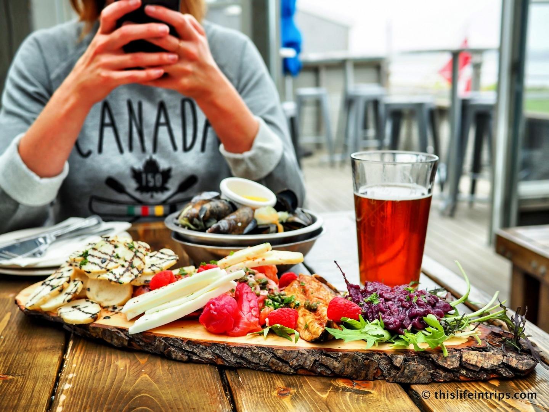 Visiting Prince Edward Island highlights - blue mussel café