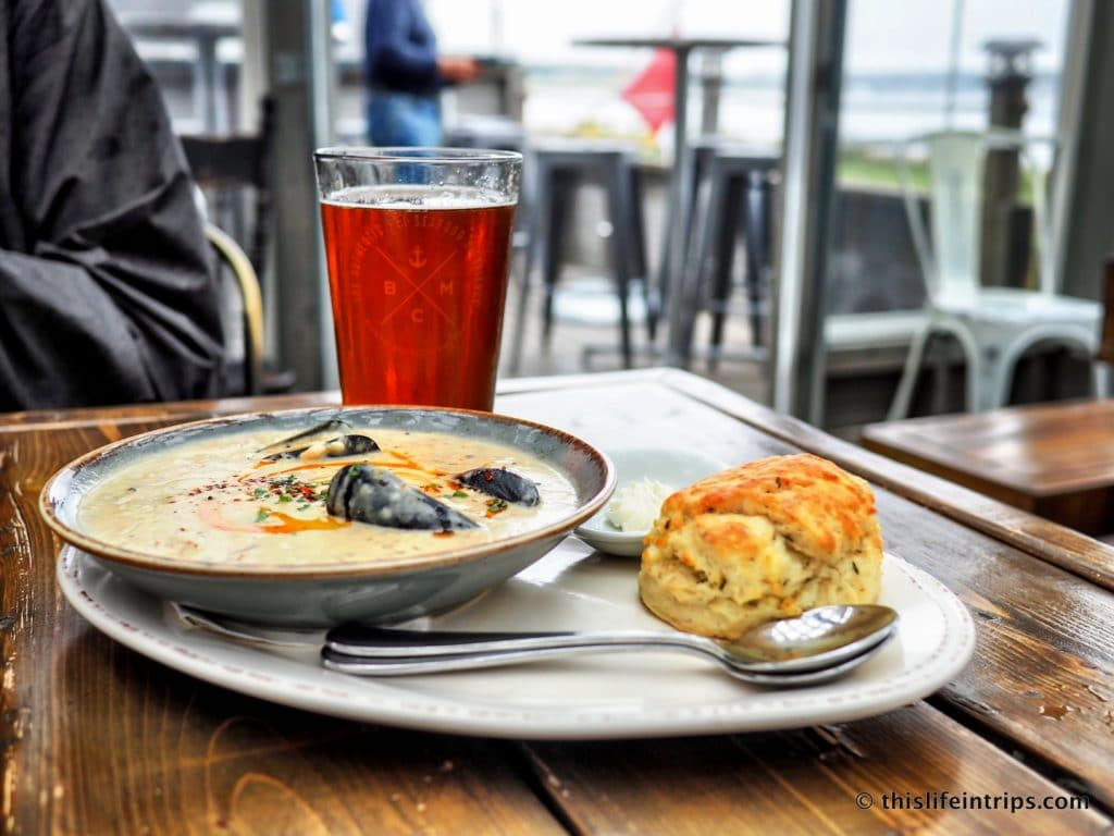 Visiting Prince Edward Island highlights - blue mussel café