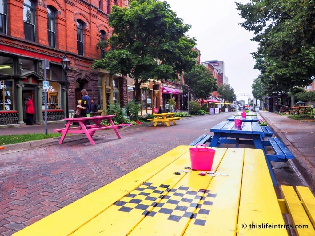 Visiting Prince Edward Island highlights - Victoria Row