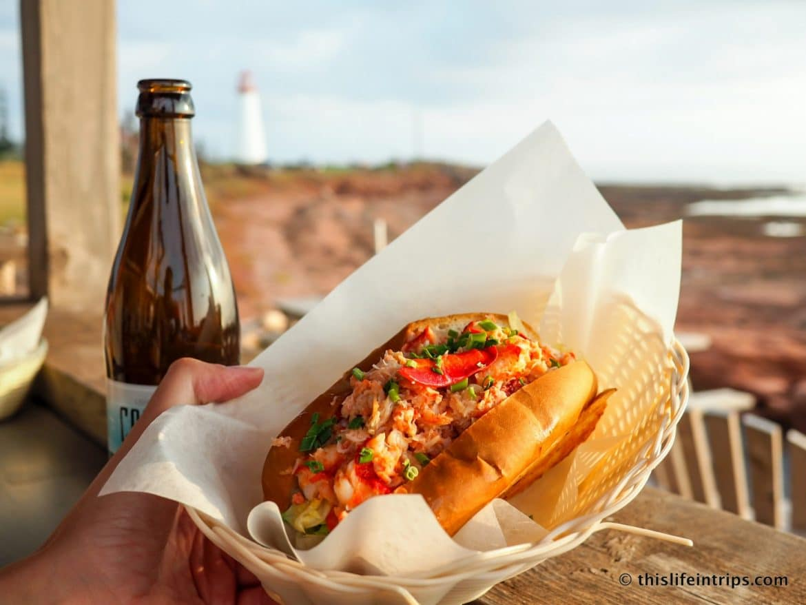 Visiting Prince Edward Island highlights - Lobster Roll