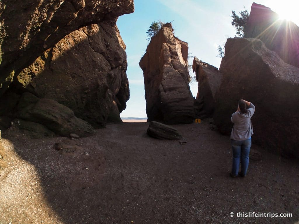 Visiting Hopewell Rocks New Brunswick Canada