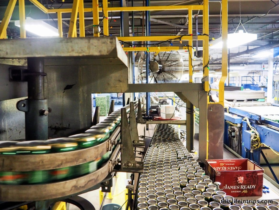 Moosehead Brewery Tour review - Visiting a Brewery as old is Canada…sort of