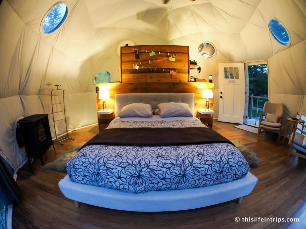 Ridgeback Lodge Review - Glamping in Canada at it's Best