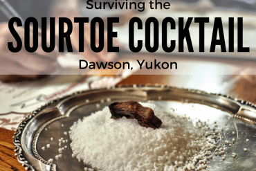 Surviving the Sourtoe Cocktail in Dawson: Canada's Quirkiest Cocktail