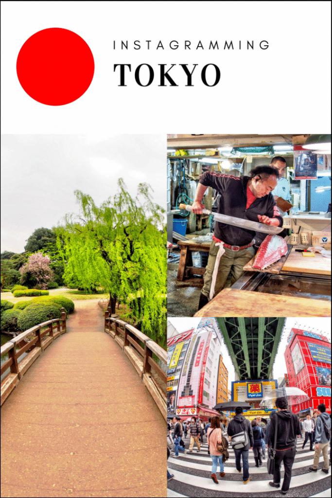 Instagramming Tokyo