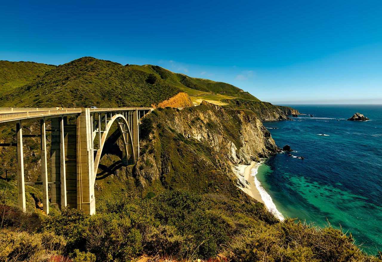 Scenic Routes in the U.S.A.