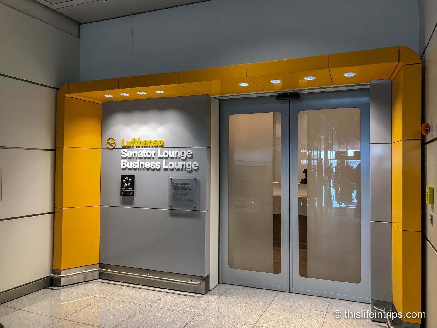Munich Lufthansa Lounge Review