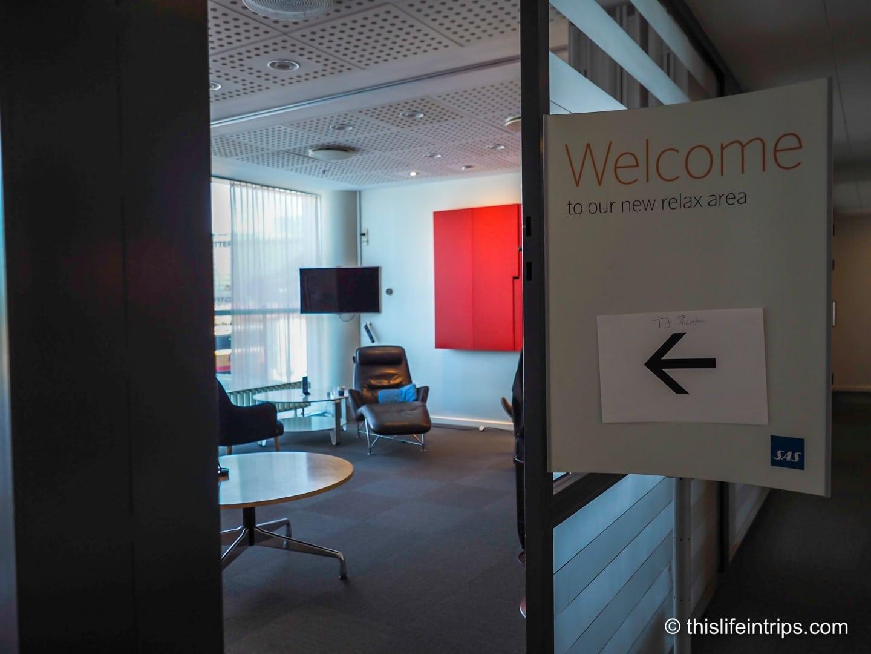 Copenhagen Airport SAS CPH Lounge Review