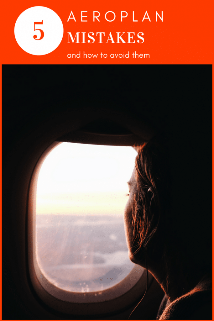 5 AEROPLAN MISTAKES TO AVOID WHEN CASHING IN YOUR POINTS